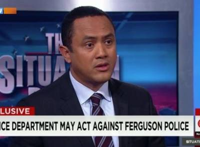 News video: Ferguson Police Unfairly Targeted Blacks, Report Says
